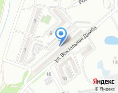 Компания Солнечный на карте города
