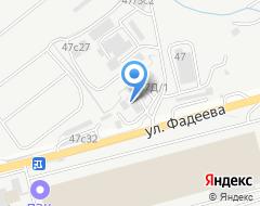 Компания Видар на карте города