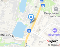 Компания Здоровый питомец на карте города