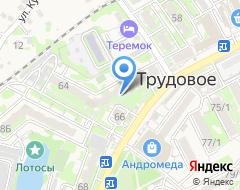 Компания Астра-Дент на карте города