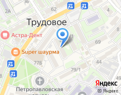 Компания Вивея-В на карте города