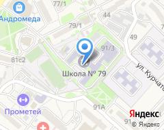 Компания АКБ Приморье на карте города
