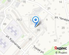 Компания Александра на карте города