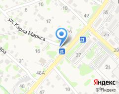 Компания Клён на карте города