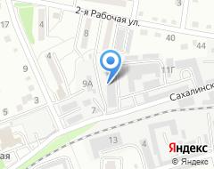 Компания Сибирь-Восток на карте города
