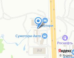 Компания Volkswagen на карте города