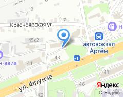 Компания Страховая компания на Фрунзе на карте города