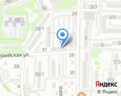 Компания Автомойка на Ульяновской на карте города