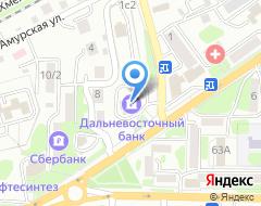 Компания Дальневосточный банк, ПАО на карте города