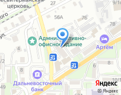 Компания В на карте города