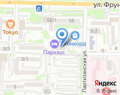 Компания Авто Max на карте города