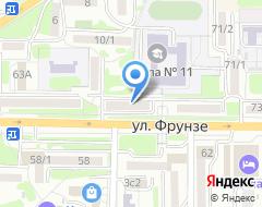 Компания Топтыгин на карте города