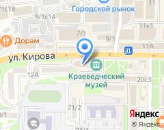 Компания СК-АВТО на карте города