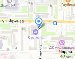 Компания СПЕКТР ТЕХНИКИ на карте города