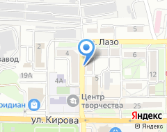 Компания Каскад на карте города