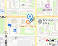 Компания Окна-профи на карте города