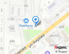 Компания Автомаг на карте города