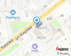 Компания Прораб на карте города