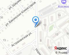 Компания Астраханская на карте города