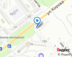 Компания Кирова на карте города