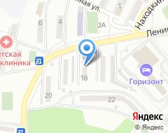 Компания АвтоТек на карте города