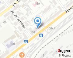 Компания Спецназ ДВ на карте города