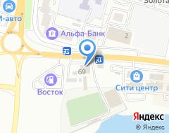 Компания Посейдон на карте города