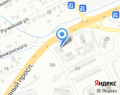 Компания Лесозавод на карте города