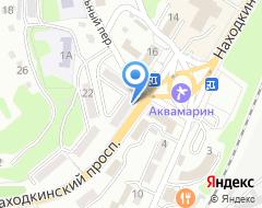 Компания Невинная на карте города