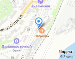 Компания Автошайн на карте города