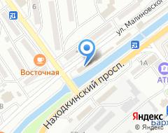 Компания Витраж Мастер на карте города