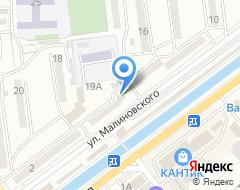 Компания Инес на карте города