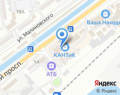Компания Золотая рыбка магазин чулочно-носочных изделий на карте города