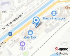 Компания Zenden на карте города