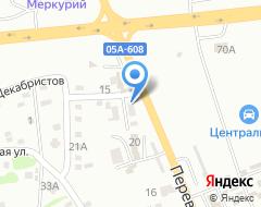 Компания Техносоюз на карте города