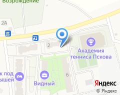 Компания В разливе на карте города