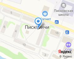 Компания Писковичи на карте города