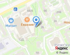 Компания АВТОБАТ на карте города