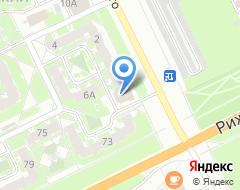 Компания Первый автомобильный супермаркет на карте города