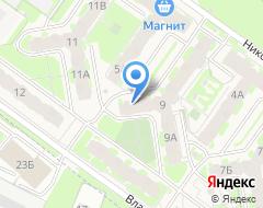 Компания Строящийся жилой дом по ул. Владимирская на карте города