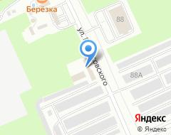 Компания Мастер Шин Псков на карте города