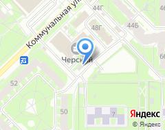 Компания Колесница на карте города