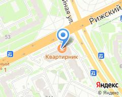 Компания Заборы и ограждения Сектор-Псков на карте города