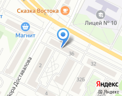 Компания Шина 60 на карте города