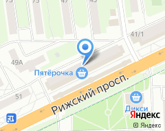 Компания Московская ярморка на карте города