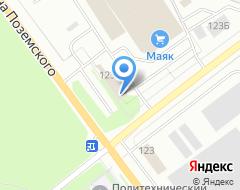 Компания AEROC на карте города