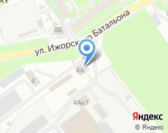 Компания Псковшина на карте города