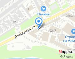 Компания Строймаг на карте города