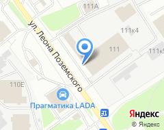 Компания Эльва Моторс на карте города
