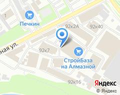 Компания Крепеж+ на карте города